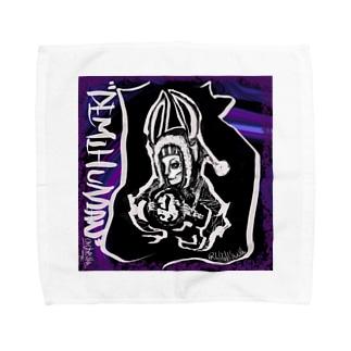 """DEMIHUMAN orchestra"" Alice's Rabbit Towel handkerchiefs"