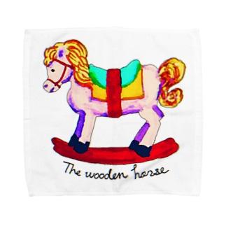木馬 Towel handkerchiefs