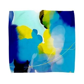 海クラゲ Towel handkerchiefs