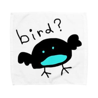 カタカケフウチョウもどき Towel Handkerchief