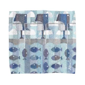 ペンギンのうみ Towel handkerchiefs