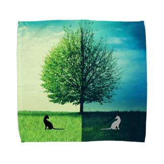Clear-Fantasy01 Towel handkerchiefs