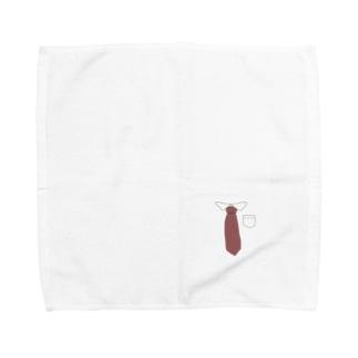 在宅ワーク用 Towel handkerchiefs