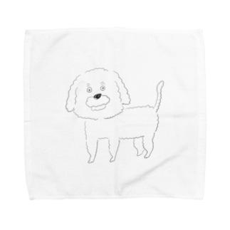 キャバプーちゃん Towel handkerchiefs