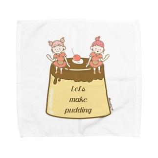プリンを作ろう! Towel handkerchiefs