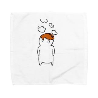 しらたまくん〜みたらしソースを添えて〜 Towel handkerchiefs