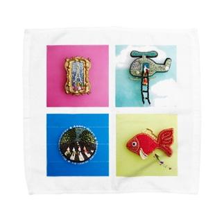 SOU MONOのミニチュア人形 Towel handkerchiefs