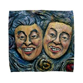 夜鷹と夜警 Towel handkerchiefs