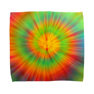 gemgemshopのサイケデリック Towel handkerchiefs