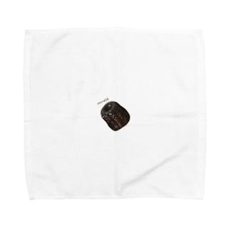 カヌレ・canelé Towel handkerchiefs