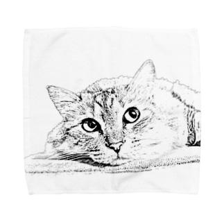 MAROchan ものおもい Towel handkerchiefs