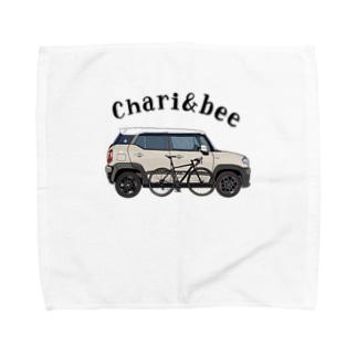 charg&bee Towel handkerchiefs
