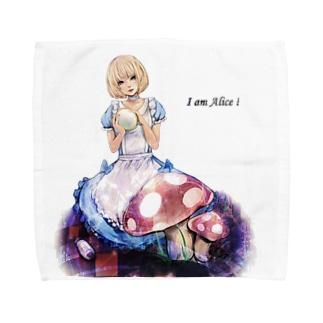 I am Alice! タオルハンカチ