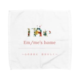 em/me's home 〜心のままに 自分らしく〜 Towel handkerchiefs
