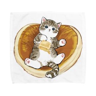にゃんこパンケーキ Towel handkerchiefs