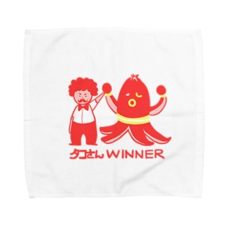 タコさんWINNER Towel handkerchiefs