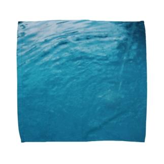 水 Towel handkerchiefs