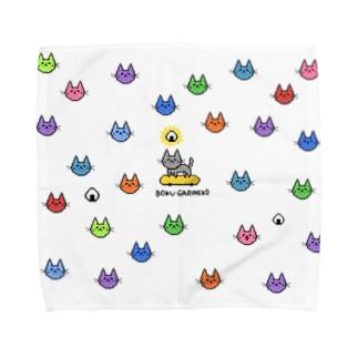 ぼくガリネコ-7 タオル Towel handkerchiefs