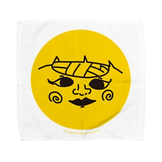 百日島丸ちゃん Towel handkerchiefs