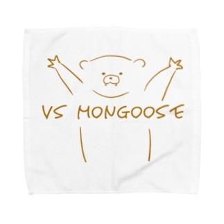 vsマングース Towel handkerchiefs