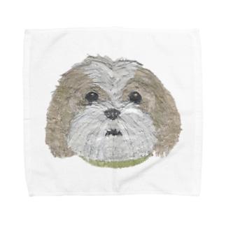 Bless Hue のシーズー Towel handkerchiefs