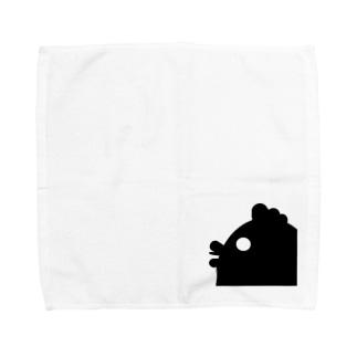 ハードボイルなニワトリ Towel handkerchiefs