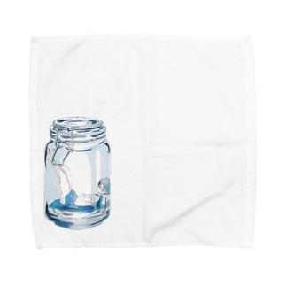 瓶詰め少女 Towel handkerchiefs