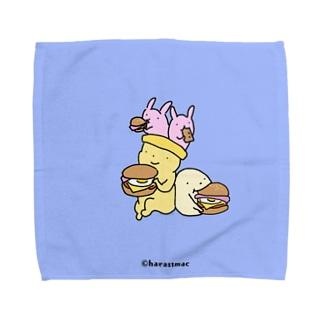 原ストマックのお月見パーティ Towel handkerchiefs