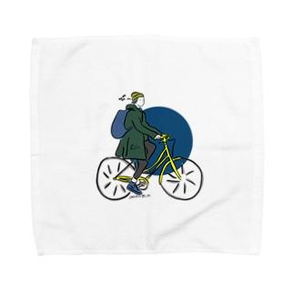 金枠ガール Towel handkerchiefs