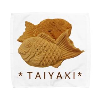 鯛焼き(写真) Towel handkerchiefs
