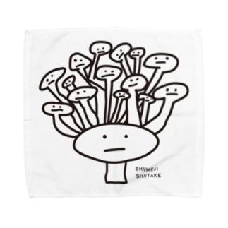 シメタケさん Towel handkerchiefs