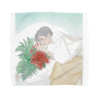 花の香り(悠木冴バージョン) Towel handkerchiefs