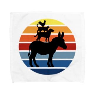 ブレーメンの町のミュージシャン Towel handkerchiefs
