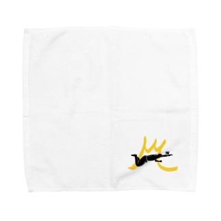 川本雄太ロゴアイテム Towel handkerchiefs