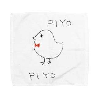 ひよこ Towel handkerchiefs
