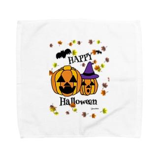 ハロウィーン Towel handkerchiefs