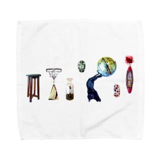 夢みるクロネコ Towel handkerchiefs
