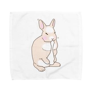 お月見うさぎ Towel handkerchiefs