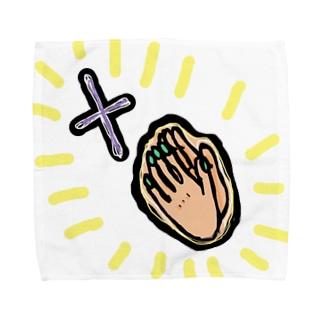 続お祈り系 Towel handkerchiefs