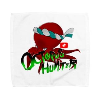 OCTOPUS HUNTER タオルハンカチ Towel handkerchiefs