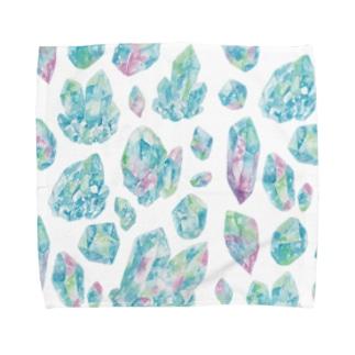 鉱物 Towel handkerchiefs