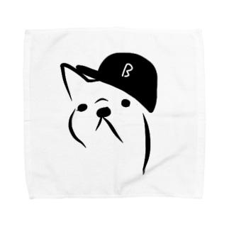 my Bae Bulldog Towel handkerchiefs