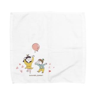 ココはぐ Towel handkerchiefs