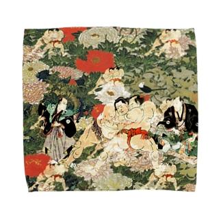 sumo6 Towel handkerchiefs