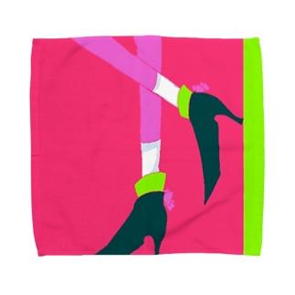 リボンヒール Towel handkerchiefs