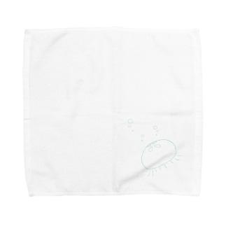 ぶくぶくくらげ Towel handkerchiefs
