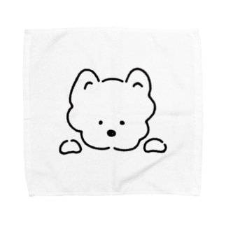 わんこ Towel handkerchiefs