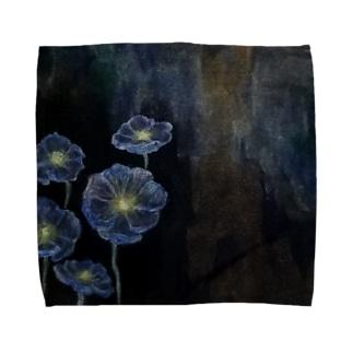 shopping_blueのmeconopsis Towel handkerchiefs