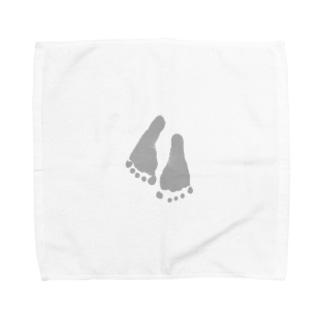 小さいあんよ Towel handkerchiefs