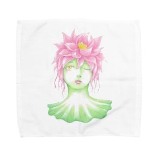蓮の精 Towel handkerchiefs
